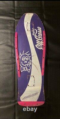 Vintage Jeff Grosso Enjoy (Coke) Santa Cruz Skateboard Deck Original Formula