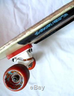 Vintage Jeff Kendall SANTA CRUZ DECK Skateboard Venture Trucks Snake 80's 1980's