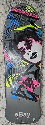 Vintage Mark Gonzales Og Vision Gonz Very Rare Skateboard Old School