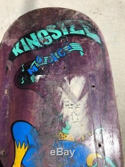 Vintage Matt Hensley King Size H Street Skateboard Deck! Used