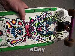 Vintage Mini Sims Skateboard Kevin Staab Original Rare 80's Deck free shipping