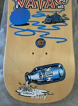 Vintage NOS Natas Kitten Pro Model SMA Skateboard Deck Santa Cruz MINT COND