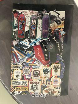 Vintage NOS Powell Peralta Lance Mountain Family Skateboard Deck Sealed