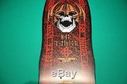 Vintage NOS Powell Peralta Per Welinder Skateboard Deck 1980s Black Seven Ply