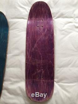 Vintage Natas Kaupas 101''Bolt'' Skateboard Deck 90's NO RESERVE