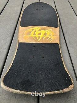 Vintage OG 80s Alva Chris Cook Jester Skateboard Deck Santa Cruz Powell Peralta