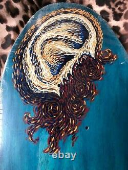 Vintage OG Powell Peralta Frankie Hill Ear 1991 NOS Bones deck skateboard
