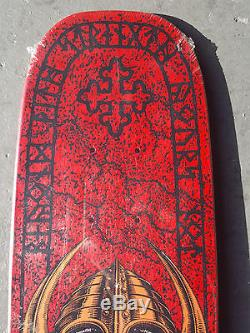 Vintage OG Powell Peralta PER WELINDER Nordic Skull II Freestyle skateboard deck