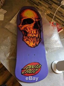 Vintage OG Santa Cruz Skateboard Deck Creep Nos