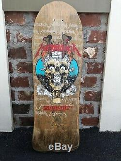 Vintage OG Very rare Skateboard Metallica Zorlac. Powell Peralta Alva Santa Cruz