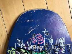 Vintage Old School Santa Cruz Jeff Kendall Graffiti Street Skateboard Deck 80s