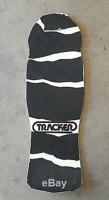 Vintage Original NOS 1987 Dan Wilkes TRACKER Dinosaur skateboard SIGNED Alva sma