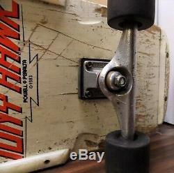 Vintage POWELL PERALTA 1983 TONY HAWK CHICKEN SKULL DECK complete skateboard RAD
