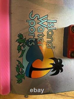 Vintage POWELL PERALTA 1983 TONY HAWK CHICKEN SKULL Skateboard Deck
