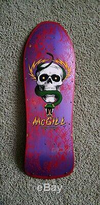 Vintage Powell Peralta Mike McGill Original Skateboard deck not a re-issue full