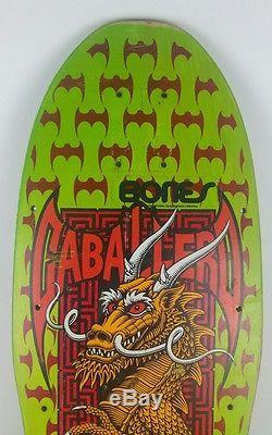 Vintage Powell Peralta Steve Caballero skateboard deck 1987