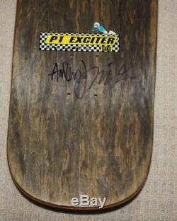 Vintage Rare Natas Kaupas 101 Skateboard Bolts Slick Near Mint Powell Peralta
