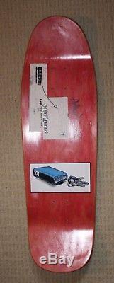 Vintage Rare Natas Kaupas 101 Skateboard Crack Pipe Unused Powell Peralta