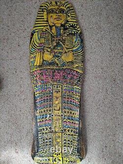 Vintage Rare SIMS Pharaoh Skateboard Deck with OJII Wheels and original trucks