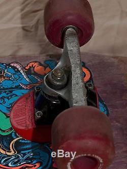 Vintage Rob Roskopp Santa Cruz Face #5 Skateboard Deck