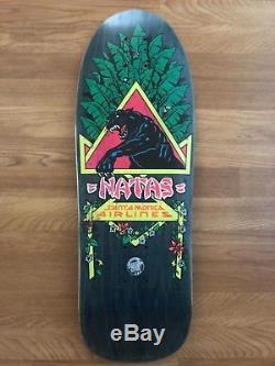Vintage SMA Natas Kaupas Black Panther Skateboard Deck 88 Blacktop Rare SC