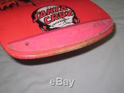 Vintage Santa Cruz Corey O'Brien skateboard deck reaper