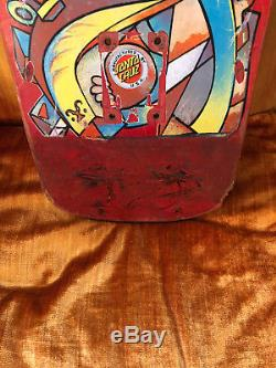 Vintage Santa Cruz Hosoi Picasso Skateboard Deck Not Reissue Powell Peralta Alva
