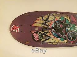 Vintage Santa Cruz (Santa Monica Airlines)Natas Kaupas Panther 2 Skateboard Deck