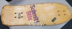 Vintage Schmitt Stix John Lucero X1 Natural Stain Original Deck