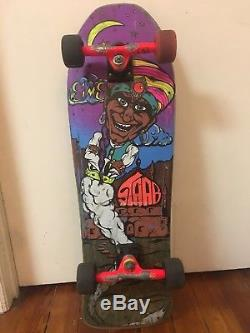 Vintage Sims Kevin Staab Skateboard Deck Original 80s Genie Not Reissue