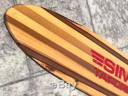 Vintage Sims Taperkick Skateboard Deck 36 Rare NOS 70s Skate Nectar