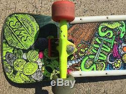 Vintage Sims skateboard Kevin Staab Pirate Rare 80's Deck