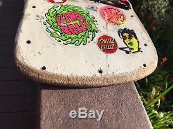 Vintage Skateboard Deck RARE Vision Mark Gonzales GONZ Pro Model 1985