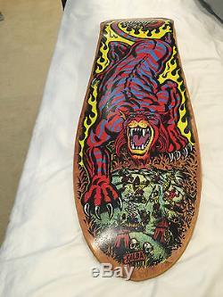 Vintage Skateboard NOS Santa Cruz Salba Tiger Powell SMA Alva Sims Deck