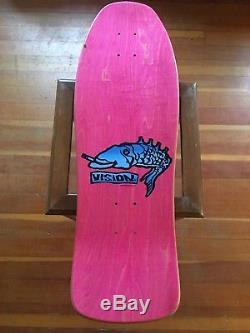 Vintage Skateboard Vision Deck Mark Gonzales GONZ Original 1980s rare
