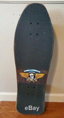 Vintage Steve Caballero Skateboard Deck Powell Peralta Vision Blurrs NOS trucks