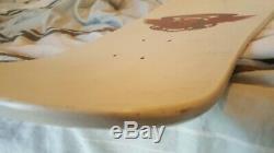 Vintage Tony Hawk Bottle Nose Powell Peralta Skateboard Deck White/Pink NOS OG