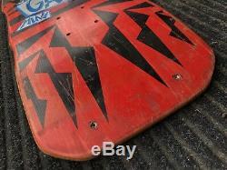 Vintage Vision Gator Mark Rogowski Pro Model Skateboard Deck original 1986