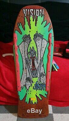 Vintage Vision Jinx 1986 Skateboard OG NOT REISSUE