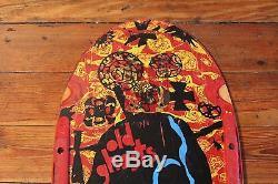 Vintage Vision Old Ghosts John Grigley Skateboard Deck Original 1980's Ugly Stix
