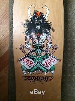 Vintage Zorlac Donny Myhre Skateboard