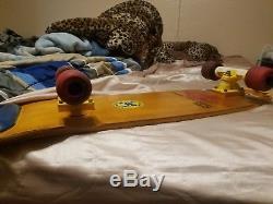 Vintage sims skateboard deck Lonnie Toft 10.0