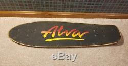 Vintage skateboard deck 1970's ALVA 30 Very Nice OG old school