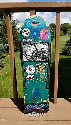 Vintage skateboard deck G&S Neil Blender Driving 80's old school