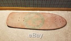 Vintage skateboard deck Kryptonics 11.25 K-beam 1979 old school OG Nice Shape