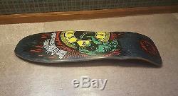 Vintage skateboard deck NOS Santa Cruz Claus Grabke OG 80's old school