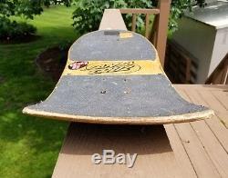 Vintage skateboard deck Santa Cruz Jason Jesse Neptune OG 80's old school