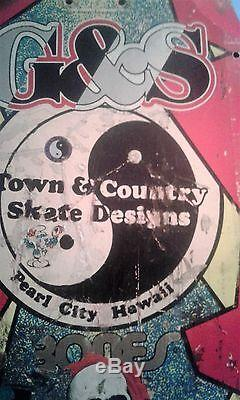 Vintage skateboard deck Town and Country