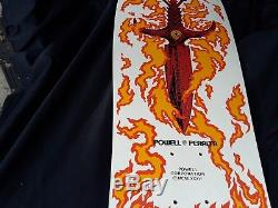 Vintage skateboard deck (old new stock) Powell Peralta Tommy Guerrero White