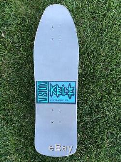 Vision Kele Rosecrans 89 NOS Vintage Skateboard Deck metallic dip NOT a reissue